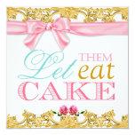 311 déjelos comer la invitación de la torta