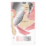 311-Diamond melocotón del geisha el | Tarjetas De Visita