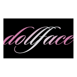 311 Doll Face Business Card
