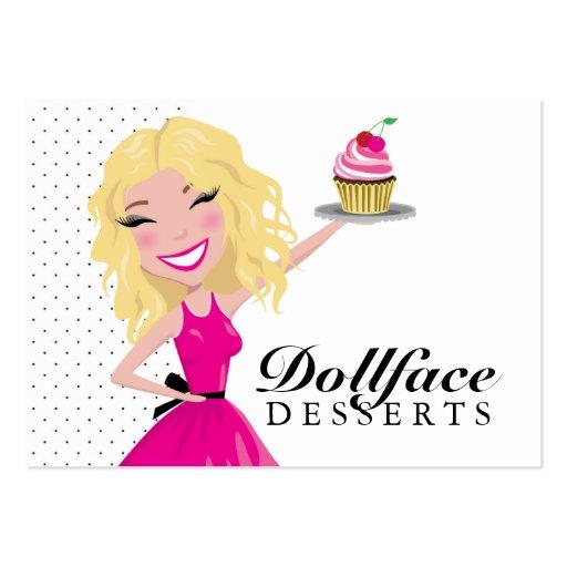 311 Dollface Desserts Blondie 3.5 x 2 Business Cards