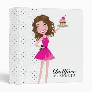 311 Dollface Desserts Brownie Binder