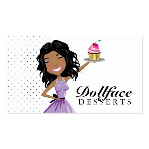 311 Dollface Desserts Ebonie Business Card Template