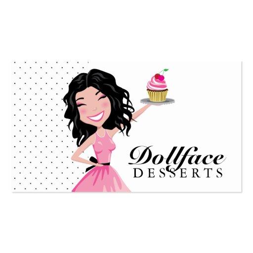 311 Dollface Desserts Kohlie Business Card Templates