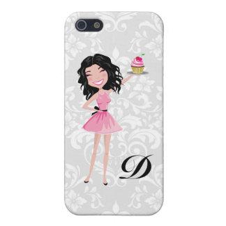 311 Dollface Desserts Kohlie Damask Case For iPhone SE/5/5s