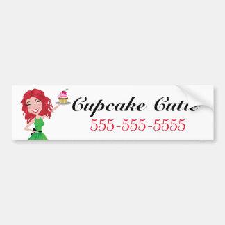 311 Dollface Desserts Rubie Bumper Sticker