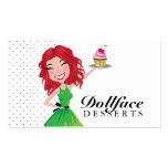 311 Dollface Desserts Rubie Business Card