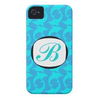 311 Dolphin Monogram iPhone Case