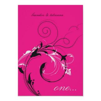 311-Dotted Desire    Hott Pink Card