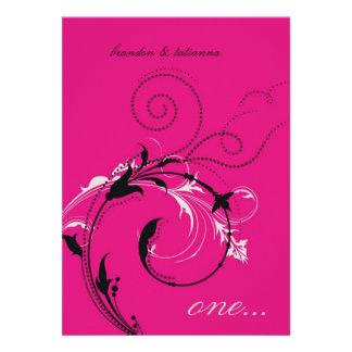 311-Dotted Desire |  Hott Pink Invite