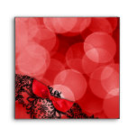 311 Dream in Leopard & Lace Red Envelopes