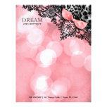 311 Dream in Lights Leopard & Lace Sweet Pink Letterhead