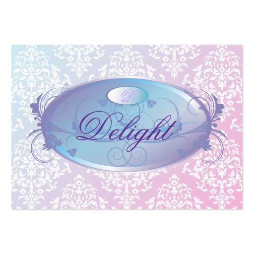 311-Dreamy Purple Delight Business Card Template