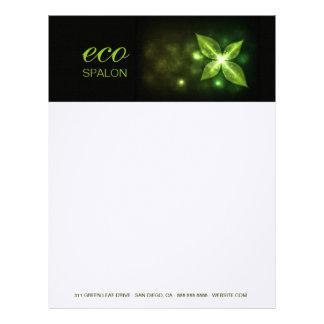 311 Eco Green Leaf Letterhead Template