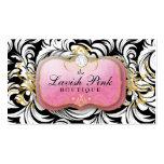 311 el diamante rosado pródigo de la placa tarjetas de negocios