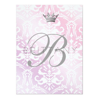 311 Enticingly Baby Pink & Lilac Card