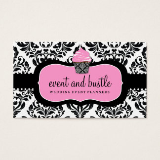 311 Event & Bustle Cupcake Business Card