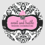 311 Event & Bustle Cupcake Classic Round Sticker