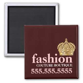 311 Fashionably Bold Tiara Peach Magnet