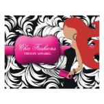 311-Fashionista Gift Card | Red Head Invites