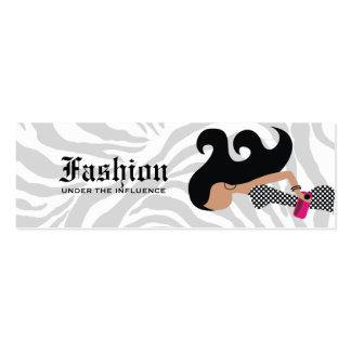 311-Fashionista | Hangtag Mini Business Card