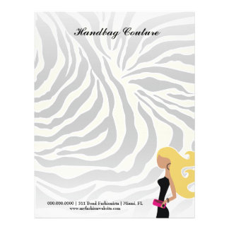 311-Fashionista Money Green Zebra | Blond Letterhead