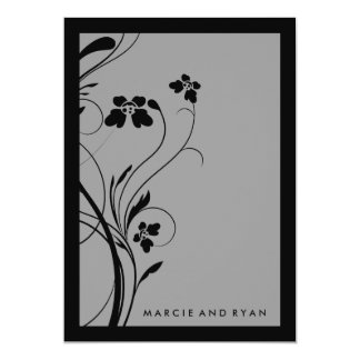 311-Floral High-Rise | Gray Card