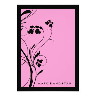 311-Floral High-Rise | Just Pink Card