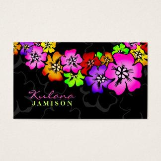 311-Flower Shower Lei Business Card