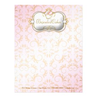 311 fondo rosado Bejeweled Bella de las tortas d