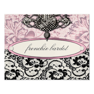 311 Frenchie Boudoir Gift Certificate Metallic Card