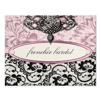 311 Frenchie Boudoir Gift Certificate Metallic Card