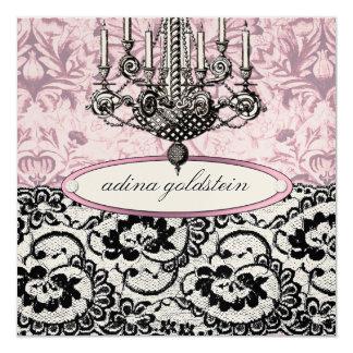 311-Frenchie Budoir | Vintage Pink Invite