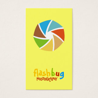 311-FUNKY FUN PHOTOGRAPHER BUSINESS CARD