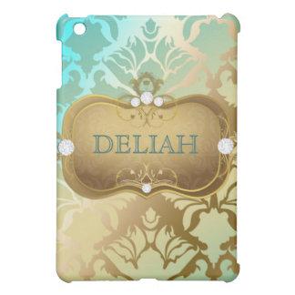 311 Glamorous Golden Ocean Damask Cover For The iPad Mini