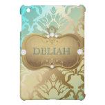 311 Glamorous Golden Ocean Damask iPad Mini Cases