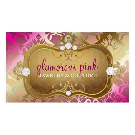 311 Glamorous Pink Elegance Business Card