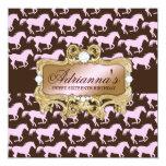 311 Glamourous Cowgirl Birthday Invitation