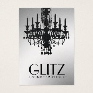 311-Glitz Boutique - Festive Gold Business Card