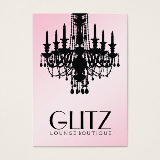 311 Glitz Boutique Pink Shimmer Business Card
