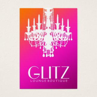 311 Glitz Boutique Wild Sunset Fade Business Card