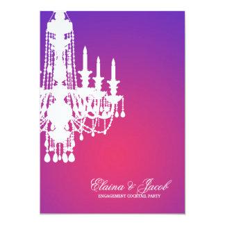 311-Glitz Chandelier - Invitation Purple Radiance