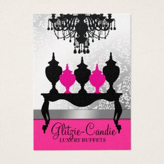 311 Glitzie Candie Metallic Pearl Business Card