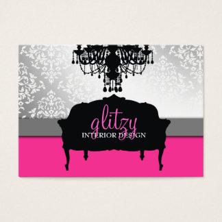 311 Glitzy Boutique Interiors Business Card