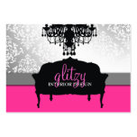 311 Glitzy Boutique Interiors Large Business Cards (Pack Of 100)