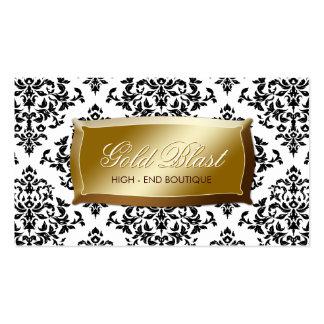 311 Gold Blast Damask Business Card