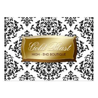 311-Gold Blast Damask Chubby Card