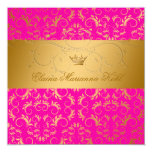 311-Golden adivinan el dulce rosado 16 de la Invitación 13,3 Cm X 13,3cm