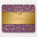 311-Golden adivinan el mousepad de la púrpura de l Alfombrilla De Ratones