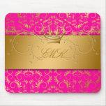 311-Golden adivinan el mousepad rosado de la pasió Alfombrillas De Ratones
