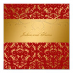 311-Golden adivinan el rojo cereza dulce 5,25 x Invitacion Personalizada